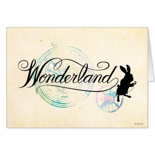 The White Rabbit | Wonderland #tarjeta #greeting #card