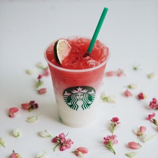 """Starbucks Jobs on Instagram: """"This ombré pink drink does so much more than brighten our day. Sbux has teamed up with none other than @ladygaga to launch the…"""""""