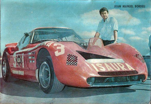 Juan Manuel Bordeu,  Baufer Chevrolet