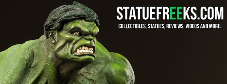 Check out our Statuefreeks.com website! We're online, but still in progress!