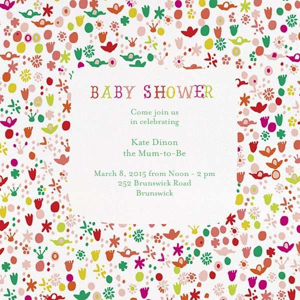 order baby shower paperless post baby shower garden party