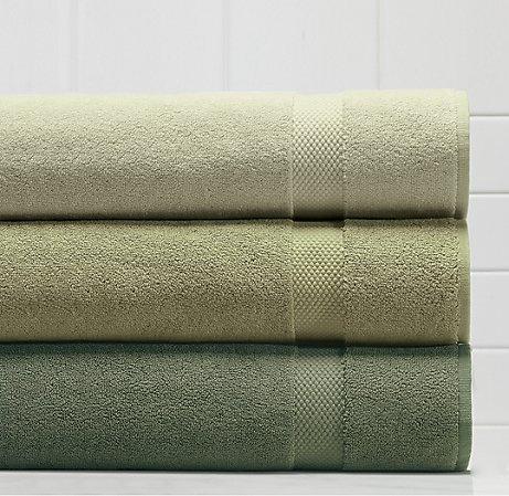 Turkish Towels Celery Collection, Restoration Hardware
