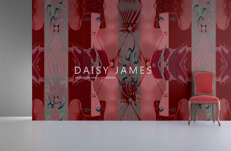 DAISY JAMES wallcover The Peek