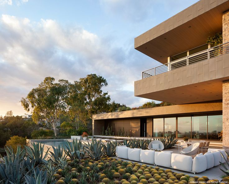 #SummitridgeResidence #modern #midcentury #levels #exterior #outside  #outdoor #landscape