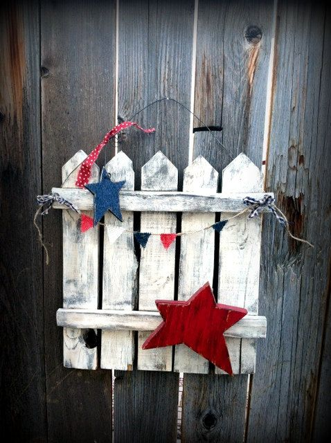 Another Reclaimed Wood Patriotic Decor Oy Its Cute