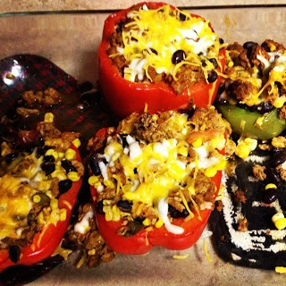 Southern at Heart: Recipe: Stuffed Mexican Peppers