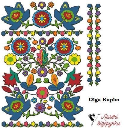 Схема під колодочки або хрестик за буковинськими мотивами. Звертатися на lelechivizerunki@gmail.com