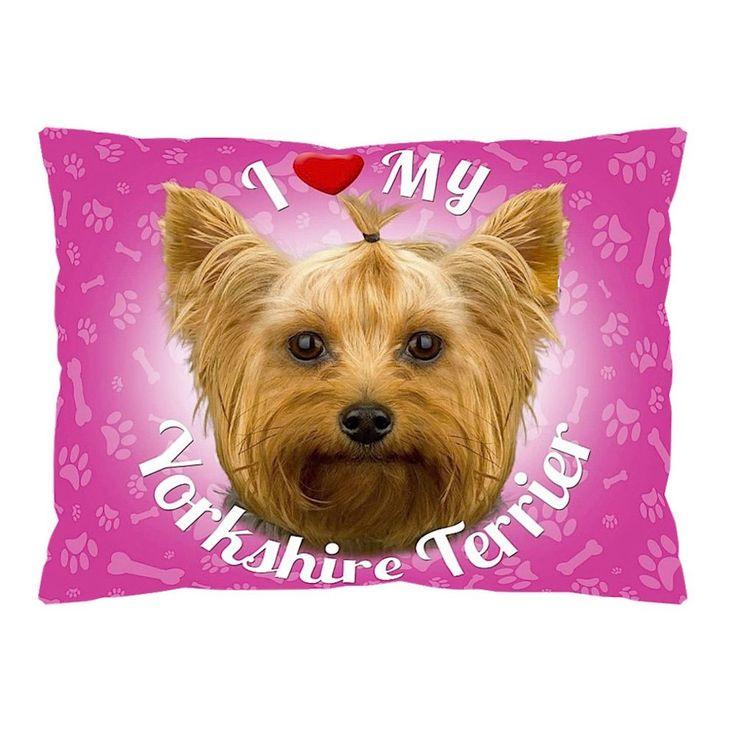 iLeesh I Love My Yorkshire Terrier Pet Bed