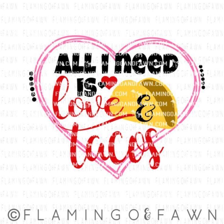 Download taco valentine svg, love tacos svg, taco svg files, food ...