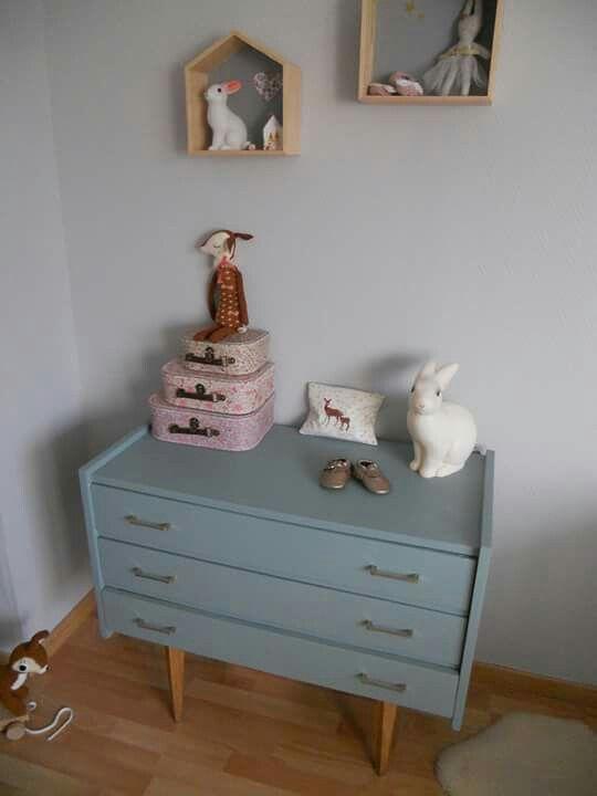 Les 327 meilleures images du tableau meubles vintage sur pinterest relookin - Relooking meuble vintage ...