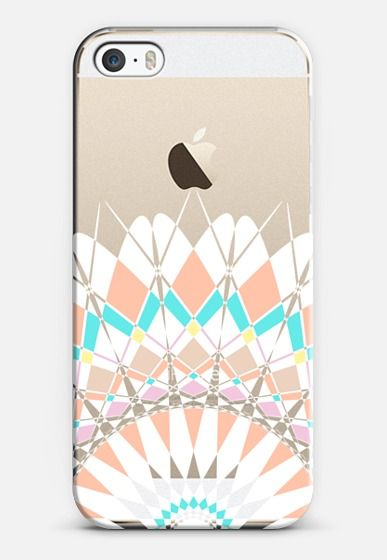 Pastel Half Feather Star Transparent iPhone 5s case by Organic Saturation | Casetify