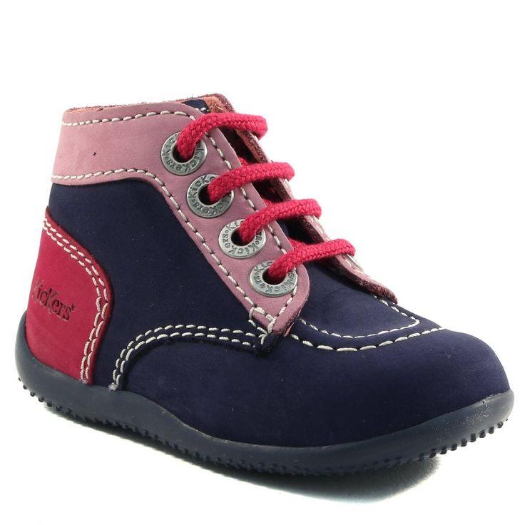 259A KICKERS BONBON MARINE www.ouistiti.shoes le spécialiste internet  #chaussures #bébé, #enfant, #fille, #garcon, #junior et #femme collection automne hiver 2016 2017