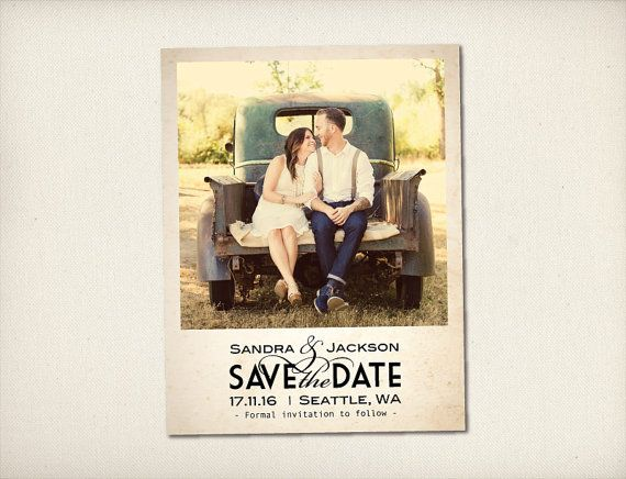 Best 25 Rustic save the dates ideas – Cheap Wedding Save the Date