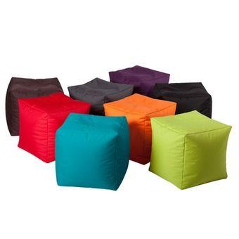 Poufs | poufs jumbo bag cube