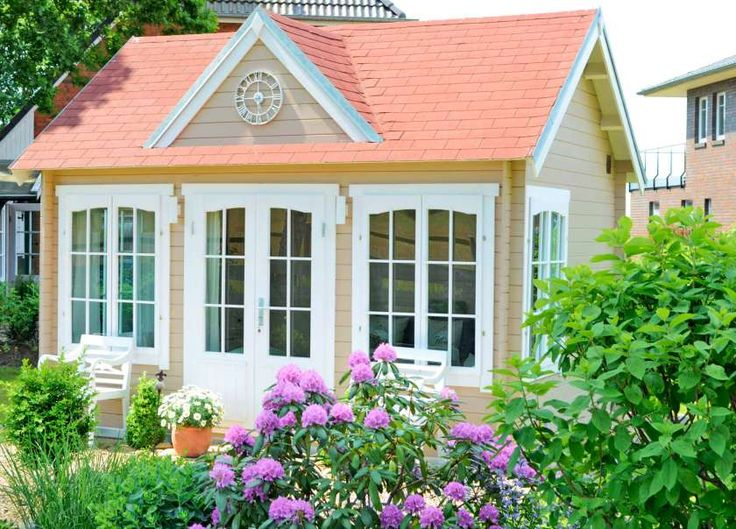 Gartenhaus Clockhouse44 Royal ISO TO332 in 2019