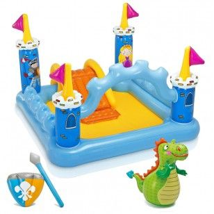 Intex Piscina Gonfiabile per Bambini Castello Medievale - Intex Inflatable Swimming Pool for Kids Medieval Castle. http://www.coocoolooo.com