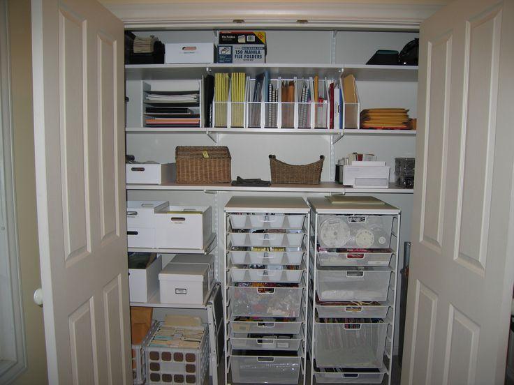 24 best office closet images on pinterest | home office closet