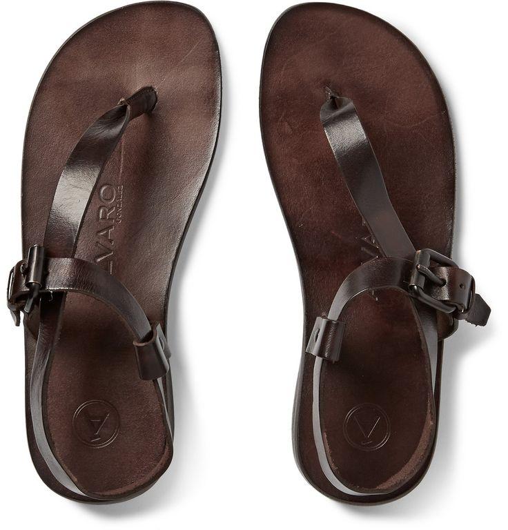 Álvaro - Andrea Leather Sandals MR PORTER