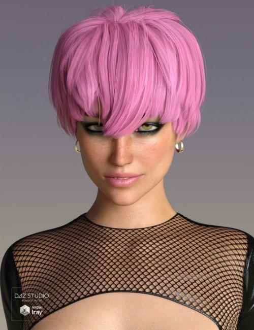 Melo Hair For Genesis 3 And 8 Females 3d Hair Dazstudio
