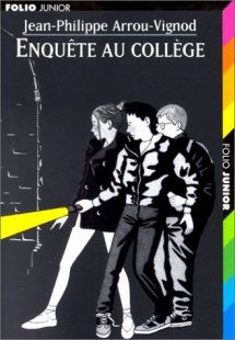 Enquête au Collège by Jean-Philippe Arrou-Vignod:      The high school is astounded to hear that Mister Cornue has been attacked!  Everything seems to suggest that Remi Pharamon is responsible even if he is not! His friends are going to gather all their energies to prove that Remi is an innocent person. For children from 9 years old.