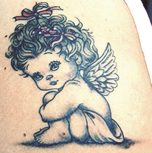 Tatuaje femei - modele de tatuaje cu ingeri | Modele de tatuaje