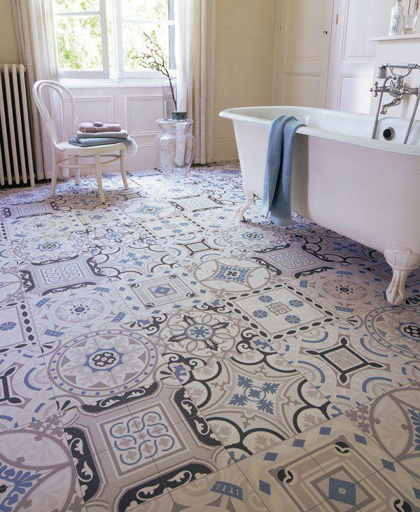 13 best Couleurs sols et murs images on Pinterest Tiles - plafond pvc pour salle de bain