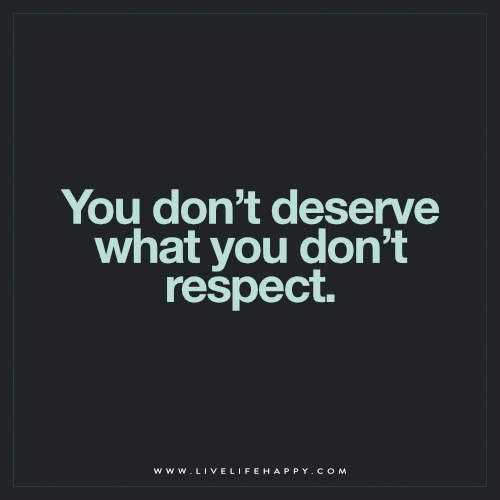 You Don't Deserve What You (Live Life Happy)                                                                                                                                                                                 More