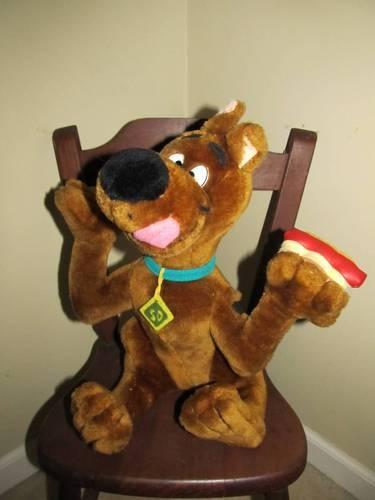 Cartoon Network Plush Scooby Doo Stuffed Animal Hot Dog 14