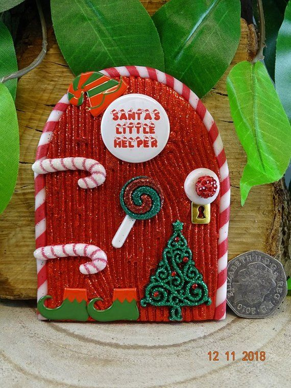 Handmade Crafting Embellishment Christmas Clay Listing is for 1 clay