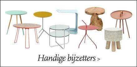 Woonaccessoires | Eijerkamp | Bijzettafels | #accessoires #wooninspiratie #interieur