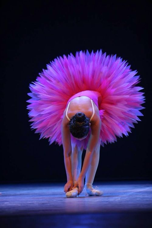#Ballerina with pink tutù