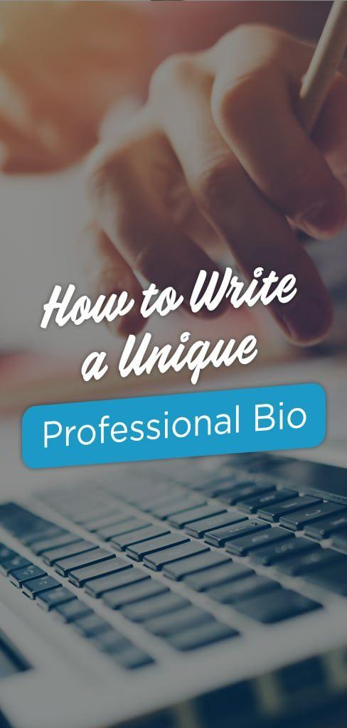 write a bio for me