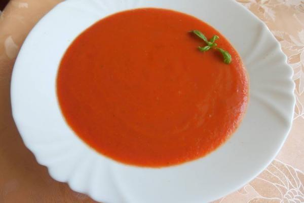 Gazpacho - hideg paradicsomleves