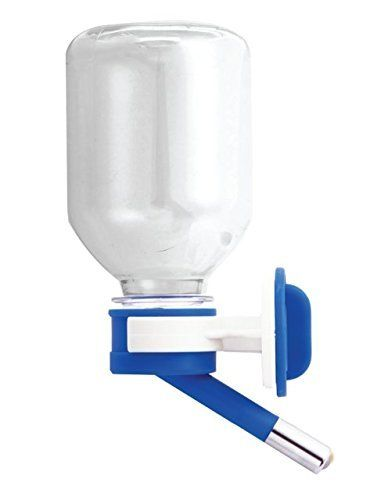 Choco Nose H125 Patented No Drip Hamster Water Bottle. Best Mini-Sized Pet Water Feeder for Hamster/ Hedgehog/ Sugar Glider/ Rat/ Mice. BPA Free. Mess Free. 11.2 Oz. Nozzle Diameter: 10mm (Blue) - Choco Nose H125 Patented No Drip Small Animal Water Bottle Our U.S Patented Leakproof Nozzle is an eco-friendly idea to reuse the regular PET (Soda) bottles. Our innovative idea allows your pets to enjoy clean and fresh water while keeping your home clean and dry. **Product Features** - The…