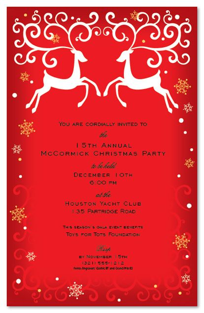 25+ ide Christmas party invitation wording terbaik di Pinterest - corporate invitation text