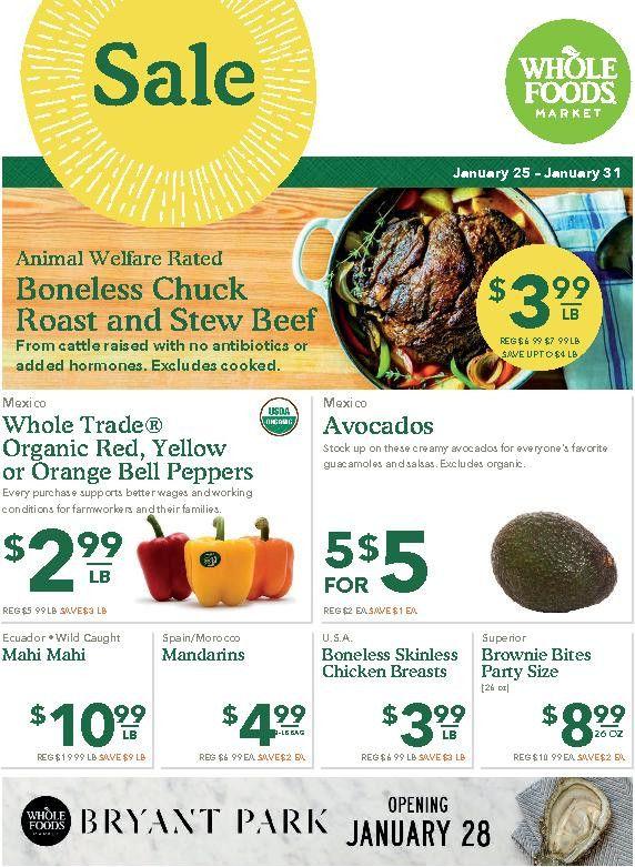 Whole Foods Circular Nyc