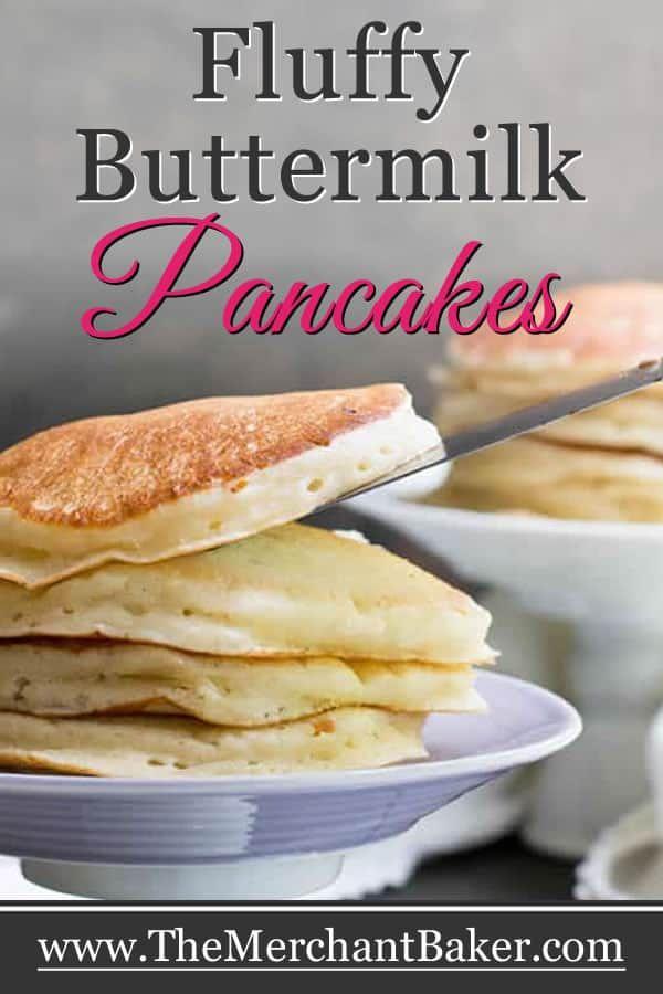 Pin On Fluffy Buttermilk Pancake Recipe