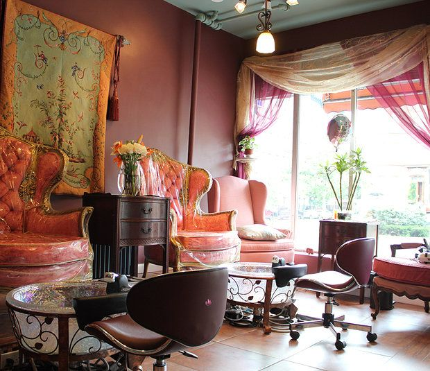 Nail Salons with Complimentary Cocktails: The Lacquer Palace