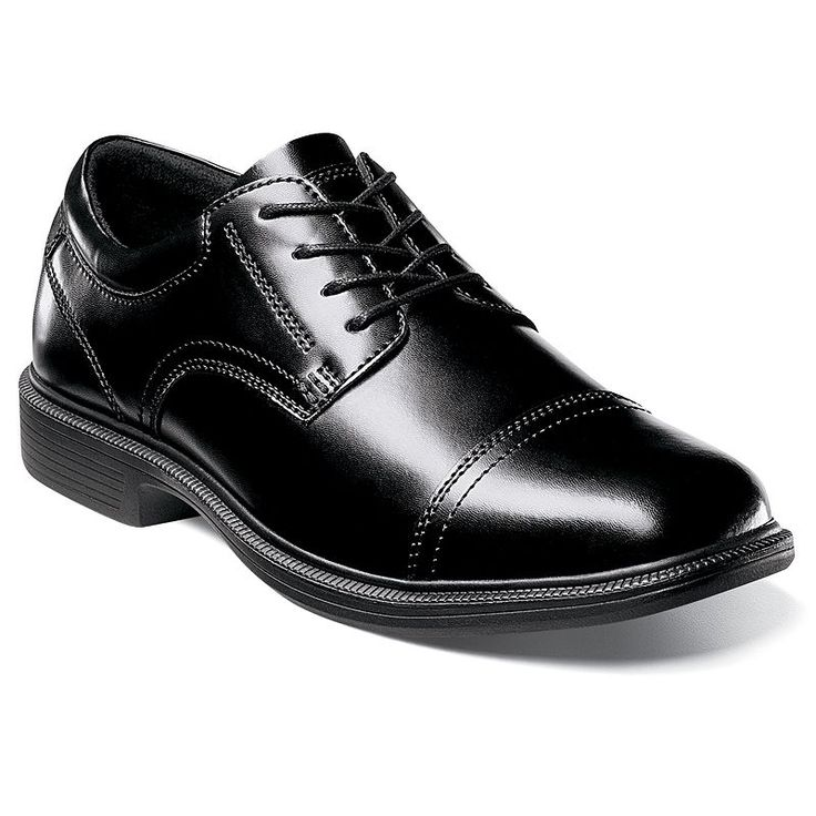 Black dress shoes size 7 night