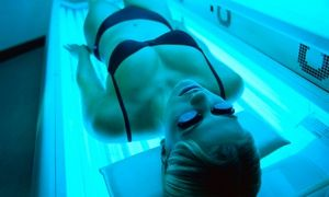 Groupon - Five Tanning Booth Sessions or One Month of Unlimited Tanning at Palm Beach Tanning Studio (Up to 55% Off) in Westchester. Groupon deal price: $25