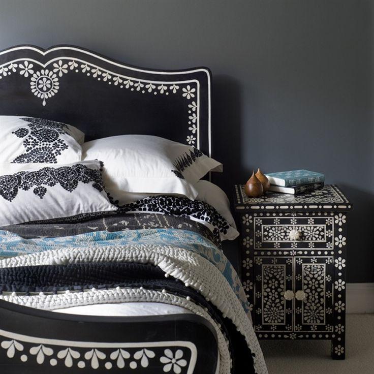 Black And White Loft Bedroom Bedroom Decorating Ideas Diy Paint Colors For Bedroom Bedroom Curtains Kmart: 137 Best Black & White Bedrooms Images On Pinterest