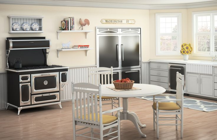 A Bright Airy Country Kitchen That Mixes Contemporary