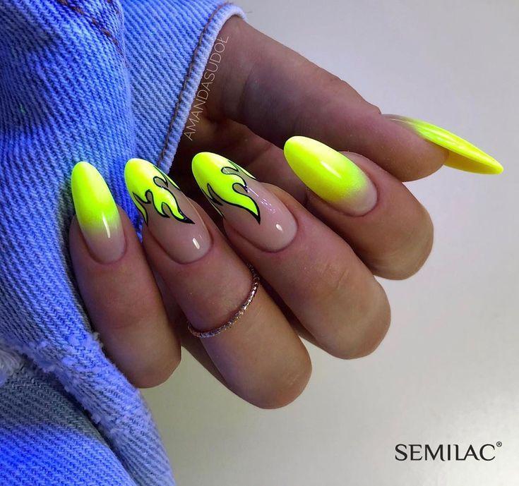 Magst du Neonnägel? ⚡️ Farbe