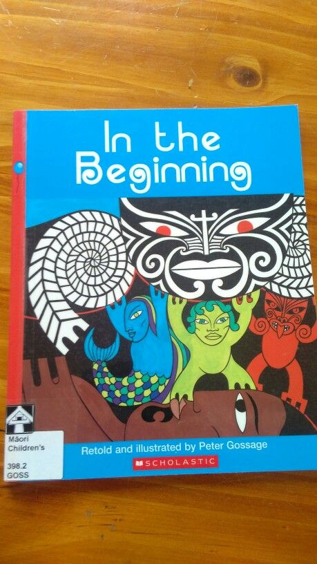 In the beginning - Peter Gossage Creation story Papa & Rangi