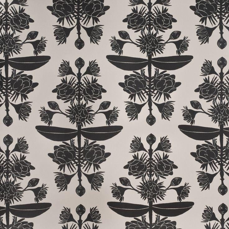 Bolwarra Black Wallpaper www.nicolacerini.com