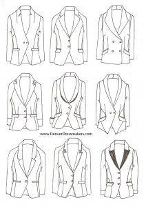 Our latest high fashion womenswear blazers and tuxedo jackets.