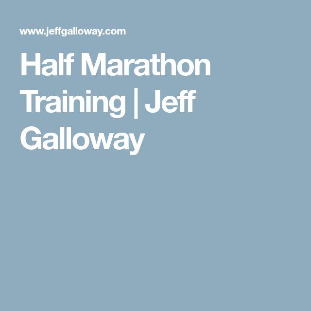 Half Marathon Training | Jeff Galloway