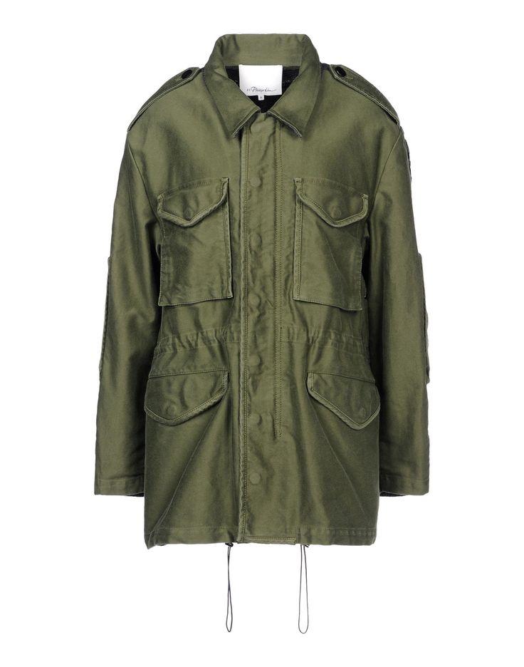 Jacket by 3.1 Phillip Lim. #militarygreen