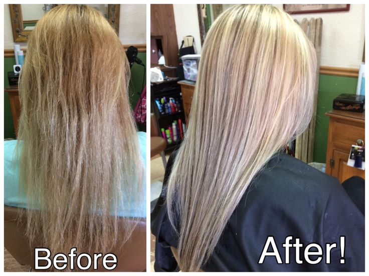 Super Damaged Fine Hair Fixed With Lots Of Very Thin
