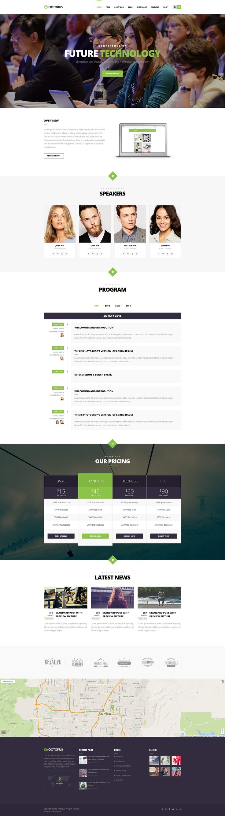 Octopus is a Modern Multipurpose Business WordPress Theme suitable for any type…